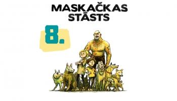 Dižkuņģis Mantrausis, Spiedze un Miesassargs | 8. stāsts