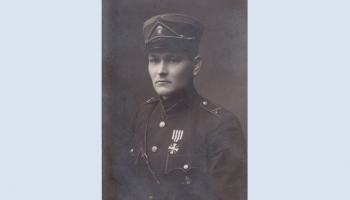 Latvijas armijai - 100. Karavīra Jāņa Lapiņa no Ilzenes pagasta dzīvesstāsts