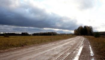"""""""Latvijas autoceļu uzturētāja"""" pārstāvis Vladimirs Kononovs par grants ceļu sakārtošanu"""