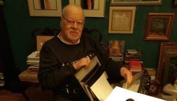 Degošie raksti. Dzejnieks Jānis Peters par dzejnieci Mirdzu Bendrupi