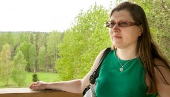 Žurnaliste Sandra Ūdre par latgalīšu raksteibu i Seimaņs Putāns