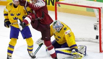 Latvijas hokeja izlase pasaules čempionātu Dānijā noslēgusi astotajā vietā