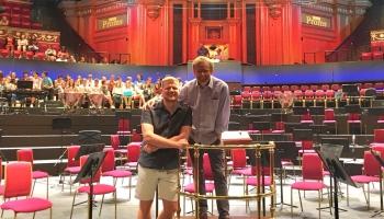 """Ērika Ešenvalda jaundarbs un Bēthovena Devītā simfonija festivālā """"BBC Proms"""""""