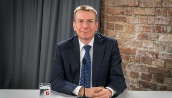 Наш гость - министр иностранных дел Эдгарс Ринкевичс