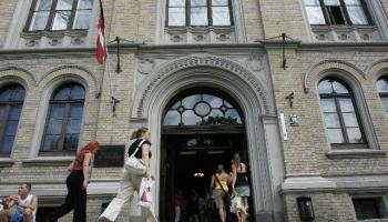 """Dienas apskats.  Latvijas Universitātē būs skatāma izstāde """"Latvijas kultūras alfabēts"""""""