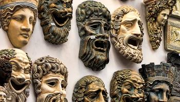 Vai zini, ka sejas un maskas apzīmējumam sengrieķiem bija viens vārds?