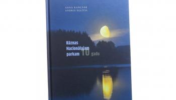 """Izdota grāmata """"Rāznas Nacionālajam parkam 10"""""""