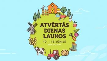 """Pilsētniekus aicina ciemoties lauku saimniecībās. Norisināsies """"Atvērtās dienas laukos"""""""