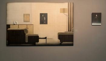 """Galerijā """"Māksla XO"""" apskatāmā Ievas Iltneres izstāde """"Diapozitīvu vakars"""""""