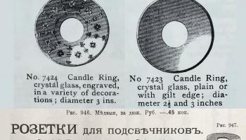 «Тайны старинных вещей» с Ольгой Прокофьевой: подставка под свечу