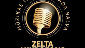 """Mūzikas ierakstu gada balvas """"Zelta Mikrofons"""" apbalvošanas ceremonija"""