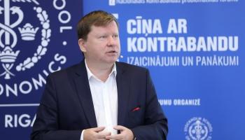 Arnis Sauka: Pērn ēnu ekonomikas rādītājs Latvijā pieauga