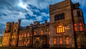 Графские развалины и привидения: какие тайны скрывает дворец Борхов в Прейли