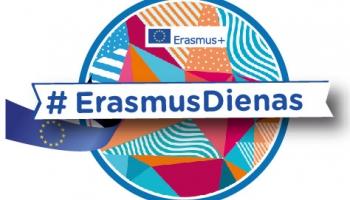 Erasmus dienu pasākumi šogad notiks tiešsaistē