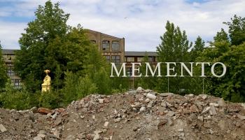"""Mākslas parks vecās rūpnīcas """"Boļševicka"""" pagalmā"""