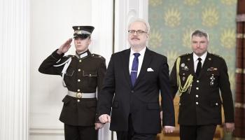 Egila Levita prezidentūra: Nācijas intelektuāļa pusgads