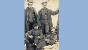 Latvijas armijai - 100. Karavīra Augusta Ozoliņa no Cesvaines dzīvesstāsts