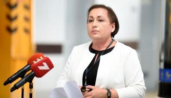 """Krustpunktā izvaicājam """"Rīgas satiksmes"""" valdes priekšsēdētāju Džinetu Innusu"""