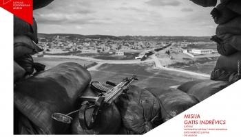 Karavīra acīm: saruna ar militāro fotogrāfu, virsseržantu Gati Indrēvicu