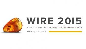 Eiropas inovatīvo reģionu nedēļas konference WIRE 2015.