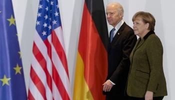 Džo Baidens un Angela Merkele tiekas Baltajā namā. Vērtē eksperti