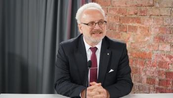 Утреннее интервью: Президент Латвии Эгилс Левитс