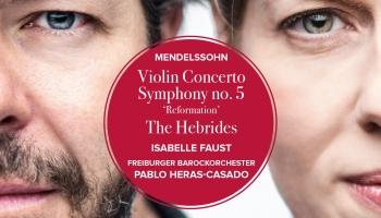 Fēliksa Mendelszona mūzika vijolei un simfoniskajam orķestrim
