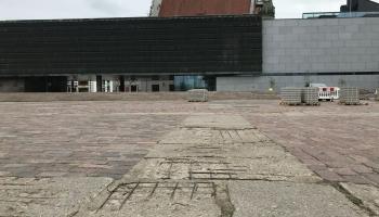 Strēlnieku laukumam pieguļošo teritoriju renovācija vēl joprojām miglā tīta