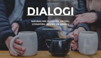 Dialogi. Pieci fragmenti no sarunām par literatūru, mūziku, mākslu, valodu un politiku