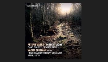 """Pētera Vaska mūzikas albums """"Distant Light"""" (2020) un saruna ar vijolnieku Vadimu Gluzmanu"""